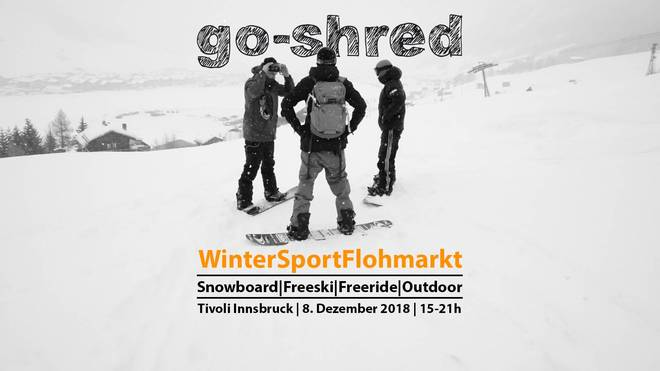 Go-Shred Wintersport Flohmarkt 2018 in Innsbruck