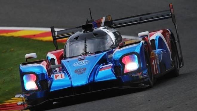 Stoffel Vandoorne absolvierte in Spa sein erstes Rennen in der WEC