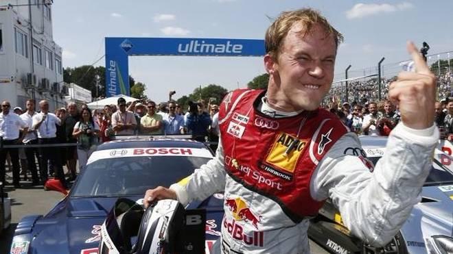 Mattias Ekström hängt seinen DTM-Helm vorerst an den Nagel