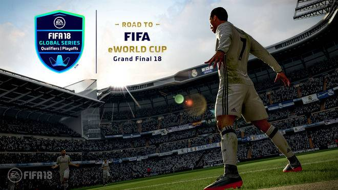 Der Saisonauftakt der EA SPORTS™ FIFA 18 Global Series live auf SPORT1.