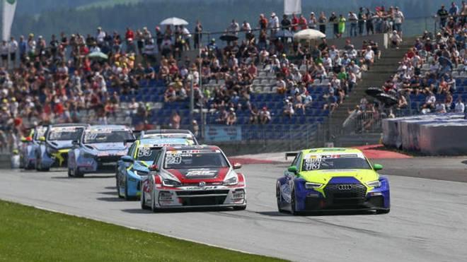 Antti Buri im LMS-Audi ist nach seinem dritten Saisonsieg neuer Tabellenführer
