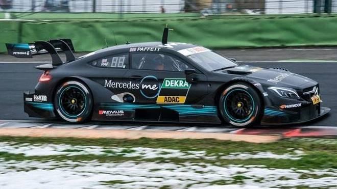 Gary Paffett war bei den Testfahrten in Vallelunga der schnellste Fahrer