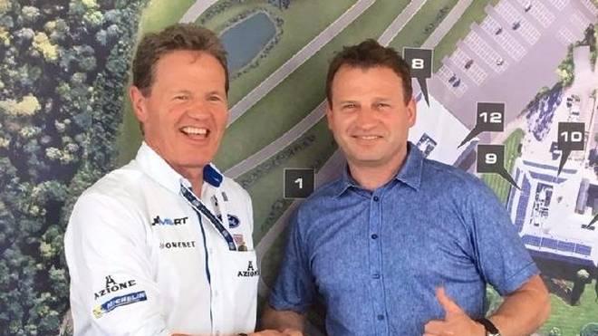Malcolm Wilson unterstützt den WRC-Einsatz von Armin Kremer