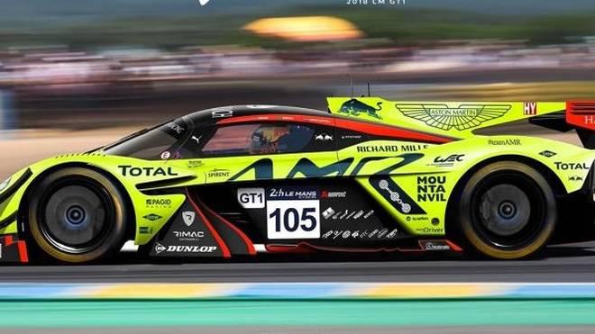Tolle Grafik: So könnte der Aston Martin Valkyrie in Le Mans rennen