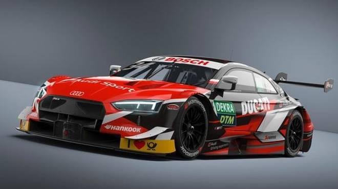 So wird Andrea Doviziosos Audi-Bolide beim Gaststart in Misano aussehen