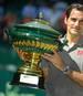 Roger Federer hat beim Turnier in Halle bereits zehn Titel eingefahren