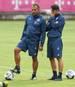 Hansi Flick (l.) ist seit dieser Saison Assistenztrainer von Niko Kovac beim FC Bayern
