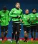 VfL Borussia Monchengladbach Training Session and Press Conference