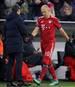 FC Bayern Muenchen v SL Benfica - UEFA Champions League Group E: Arjen Robben wurde in der Champions League gegen Benfica ausgewechselt