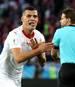 Der Schweizer Granit Xhaka jubelte gegen Serbien mit der Doppeladler-Geste