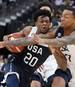 De'Aaron Fox (l.) hat seine Absage für die Basketball-WM erklärt