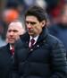 Aitor Karanka (mitte) muss den FC Middlesbrough verlassen