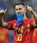 Eden Hazard scheiterte mit Belgien im Halbfinale der WM 2018 an Frankreich