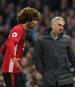 Marouane Fellaini (l.) steht vor dem Abschied bei Manchester United