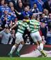 Celtic-Profi Leigh Griffiths (l.) sorgte für den Endstand