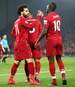 Sadio Mane und Mo Salah vom FC Liverpool