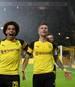 Marco Reus (r., mit Axel Witsel) steuerte zwei Tore zum BVB-Sieg gegen den FC Bayern bei