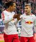 Yussuf Poulsen und Timo Werner haben jeweils vier Tore auf dem Konto