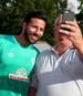 Claudio Pizarro läuft zum insgesamt fünften Mal für Werder Bremen auf