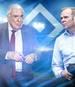 Klaus-Michael Kühne (l., mit Boss Bernd Hoffmann) hält beim Hamburger SV 20,57 Prozent der Anteile