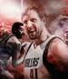 Dirk Nowitzki von den Dallas Mavericks