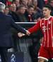 James Rodriguez kann sich einen Wechsel nach Italien vorstellen - zu Carlo Ancelotti (l.)