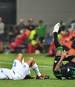 Kevin-Prince Boateng (r.) wurde im Spiel gegen Inter Mailand mehrfach gefoult