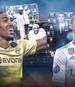Pierre-Emerick Aubameyang lässt derzeit Cristiano Ronaldo erblassen