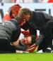 Christian Gentner erlitt im Spiel gegen den VfL Wolfsburg mehrere Brüche im Gesicht