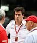 Mercedes-Sportchef Toto Wolff warnt die Konkurrenz vor einem Ferrari-Ausstieg