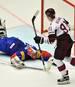 Lettland setzte sich gegen Südkorea durch