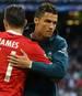 Cristiano Ronaldo will offenbar wieder mit James Rodriguez zusammenspielen