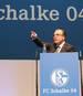 Schalke 04 - Annual Meeting 2013 Schalke 04 Clemens Tönnies stellt sich bei der Jahreshauptversammlung 2019 zur Wiederwahl als Aufsichtsratschef