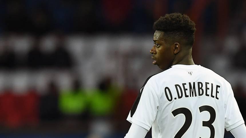 Ousmane Dembele spielte vor seinem Wechseöl nach Dortmund für Stade Rennes