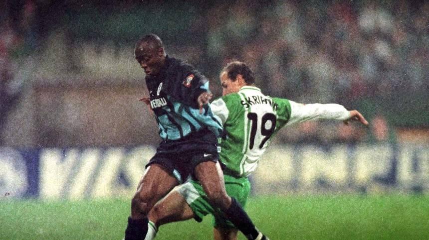 Abedi Pele wechselt 1996 zum TSV 1860 München