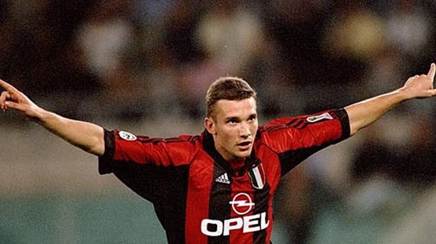 7. ANDREJ SCHEWTSCHENKO: 48 Tore für den AC Mailand, den FC Chelsea und Dynamo Kiew