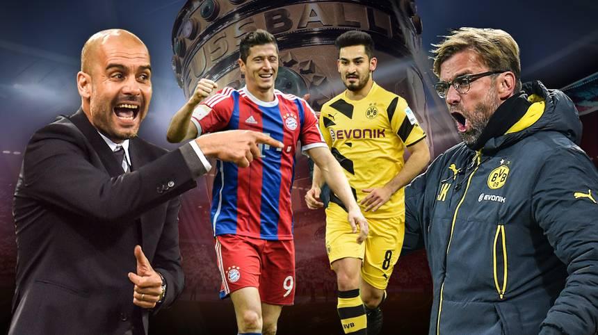 Bayern München gegen Borussia Dortmund